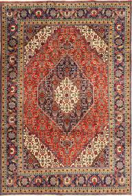 Tabriz Alfombra 208X307 Oriental Hecha A Mano Marrón/Marrón Oscuro (Lana, Persia/Irán)