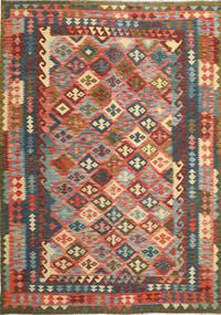 Kilim Afghan Old style carpet ABCS1184