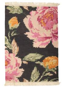 Kelim Karabach Sofia - Zwart tapijt CVD14348