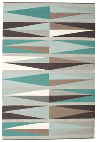 Terence Rug 200X300 Authentic  Modern Handwoven Light Grey/Beige (Wool, India)