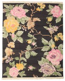 Kelim Karabach Amira - Zwart / Bruin tapijt CVD14327