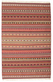 Kilim Dhurrie Varanasi with fringes carpet CVD15150