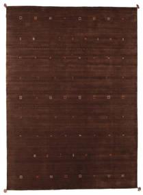 Loribaf Loom Szőnyeg 249X349 Modern Csomózású Sötétpiros/Sötétbarna (Gyapjú, India)
