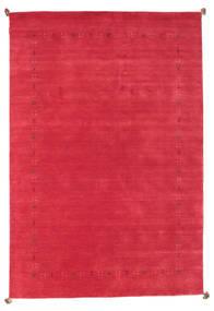 Loribaf Loom Szőnyeg 196X289 Modern Csomózású Piros (Gyapjú, India)