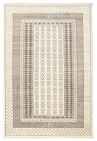 Sandor Rug 160X230 Authentic  Modern Handknotted Beige/Light Grey (Wool, India)