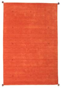 Loribaf Loom Teppich  193X291 Echter Moderner Handgeknüpfter Orange (Wolle, Indien)