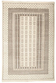Sandor Rug 140X200 Authentic  Modern Handknotted Beige/Light Brown (Wool, India)