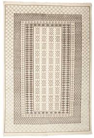 Sandor 絨毯 140X200 モダン 手織り ベージュ/薄茶色 (ウール, インド)