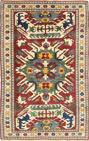Shirvan Alfombra 134X217 Oriental Hecha A Mano Beige/Gris Oscuro (Lana, China)