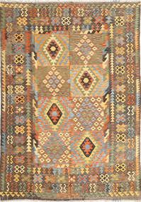 Kilim Afghan Old style carpet ABCS1216