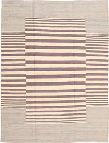 Kilim Modern Rug 130X173 Authentic  Modern Handwoven Beige/Light Grey/Light Purple (Wool, Afghanistan)