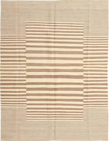 Kelim Moderni Matto 132X170 Moderni Käsinkudottu Vaaleanruskea/Beige (Villa, Afganistan)