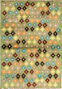 Ziegler Modern Rug 90X127 Authentic  Modern Handknotted Light Green/Olive Green (Wool, Afghanistan)