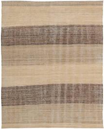 Kelim Moderni Matto 138X182 Moderni Käsinkudottu Vaaleanharmaa/Tummanbeige (Villa, Afganistan)