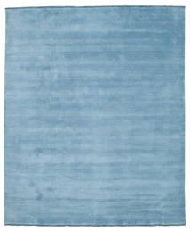 Tapis Handloom fringes - Bleu clair CVD14108