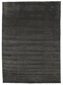 Handloom fringes - Schwarz / grau Teppich CVD15140