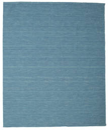 Kilim loom - Blue carpet CVD9054