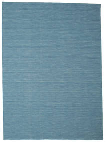 Kilim Loom - Blue Rug 250X350 Authentic  Modern Handwoven Turquoise Blue/Blue/Light Blue Large (Wool, India)