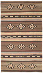 Kilim Modern Szőnyeg 173X313 Modern Kézi Szövésű Világosbarna/Barna/Sötétbarna (Gyapjú, Afganisztán)