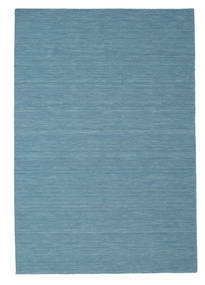 Kilim Loom - Blue Rug 200X300 Authentic  Modern Handwoven Turquoise Blue/Light Blue (Wool, India)