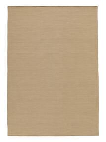 Kelim Loom - Beige Tæppe 300X400 Ægte Moderne Håndvævet Lysebrun/Beige Stort (Uld, Indien)