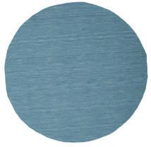 Kelim loom - Blau Teppich CVD9065
