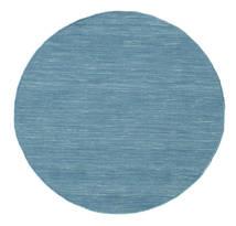 Kelim loom - Blau Teppich CVD9073