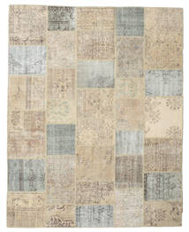 Patchwork Rug 238X300 Authentic  Modern Handknotted Light Brown/Light Grey (Wool, Turkey)
