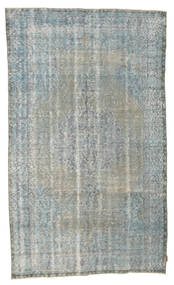 Colored Vintage Rug 170X293 Authentic Modern Handknotted Light Grey/Dark Grey (Wool, Turkey)