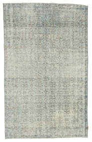 Colored Vintage Rug 162X263 Authentic  Modern Handknotted Light Grey (Wool, Turkey)