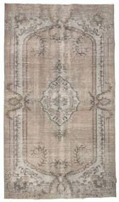 Colored Vintage Rug 150X260 Authentic  Modern Handknotted Light Grey (Wool, Turkey)