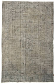 Colored Vintage Rug 185X285 Authentic  Modern Handknotted Light Grey/Dark Grey (Wool, Turkey)
