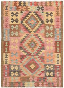 Kelim Afghan Old style tapijt NAZB1202