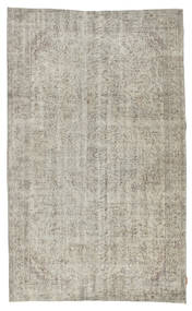 Colored Vintage Rug 163X267 Authentic  Modern Handknotted Light Grey/Light Brown (Wool, Turkey)