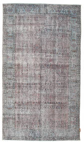 Colored Vintage Rug 156X272 Authentic  Modern Handknotted Dark Grey/Light Grey (Wool, Turkey)