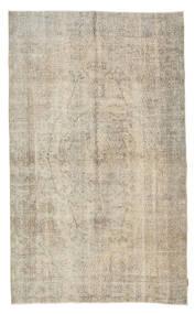 カラード ヴィンテージ 絨毯 160X270 モダン 手織り 薄茶色/暗めのベージュ色の (ウール, トルコ)