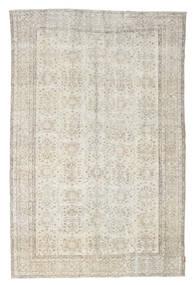 Colored Vintage Teppich  202X312 Echter Moderner Handgeknüpfter Hellgrau/Dunkel Beige (Wolle, Türkei)
