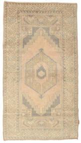 Colored Vintage Teppe 115X212 Ekte Moderne Håndknyttet Lysbrun/Mørk Beige (Ull, Tyrkia)