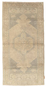 Colored Vintage Rug 100X196 Authentic  Modern Handknotted Light Brown (Wool, Turkey)