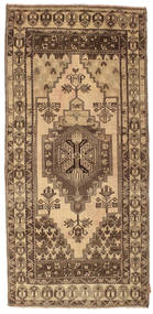 Colored Vintage Rug 106X224 Authentic  Modern Handknotted Light Brown/Brown (Wool, Turkey)