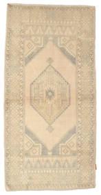 Colored Vintage Dywan 103X207 Nowoczesny Tkany Ręcznie Beżowy/Jasnoszary (Wełna, Turcja)