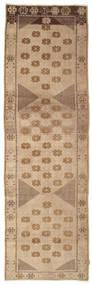 Colored Vintage Rug 112X370 Authentic Modern Handknotted Hallway Runner Light Brown/Brown (Wool, Turkey)