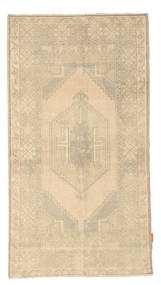 Colored Vintage Rug 100X187 Authentic  Modern Handknotted Beige/Light Brown (Wool, Turkey)