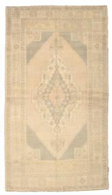 Colored Vintage Rug 143X257 Authentic  Modern Handknotted Dark Beige/Light Brown (Wool, Turkey)