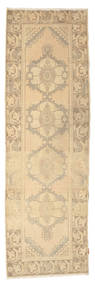 Colored Vintage Rug 92X295 Authentic  Modern Handknotted Hallway Runner  Beige/Light Brown (Wool, Turkey)