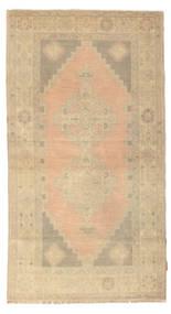 Colored Vintage Teppe 114X212 Ekte Moderne Håndknyttet Mørk Beige/Lysbrun (Ull, Tyrkia)