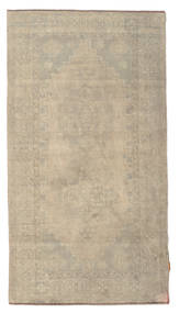 Colored Vintage Rug 120X223 Authentic  Modern Handknotted Light Brown (Wool, Turkey)