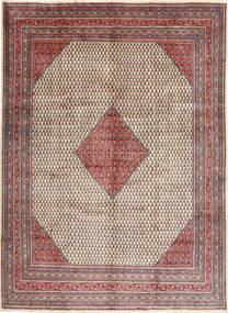 Sarough Mir Matta 280X385 Äkta Orientalisk Handknuten Ljusgrå/Mörkröd Stor (Ull, Persien/Iran)