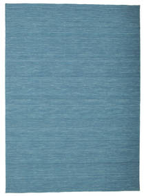 Kilim Loom - Blue Rug 160X230 Authentic  Modern Handwoven Turquoise Blue/Blue (Wool, India)