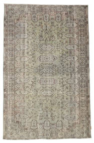 Colored Vintage Rug 177X282 Authentic  Modern Handknotted Light Brown/Light Grey (Wool, Turkey)